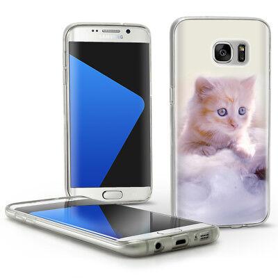 Handy Hülle Für SAMSUNG Silikon Case Tasche Motiv Hüllen Bumper Design Cover