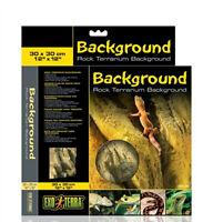 Hagen Exo Terra Foam Rock Design Reptile Terrarium Background 6 Sizes