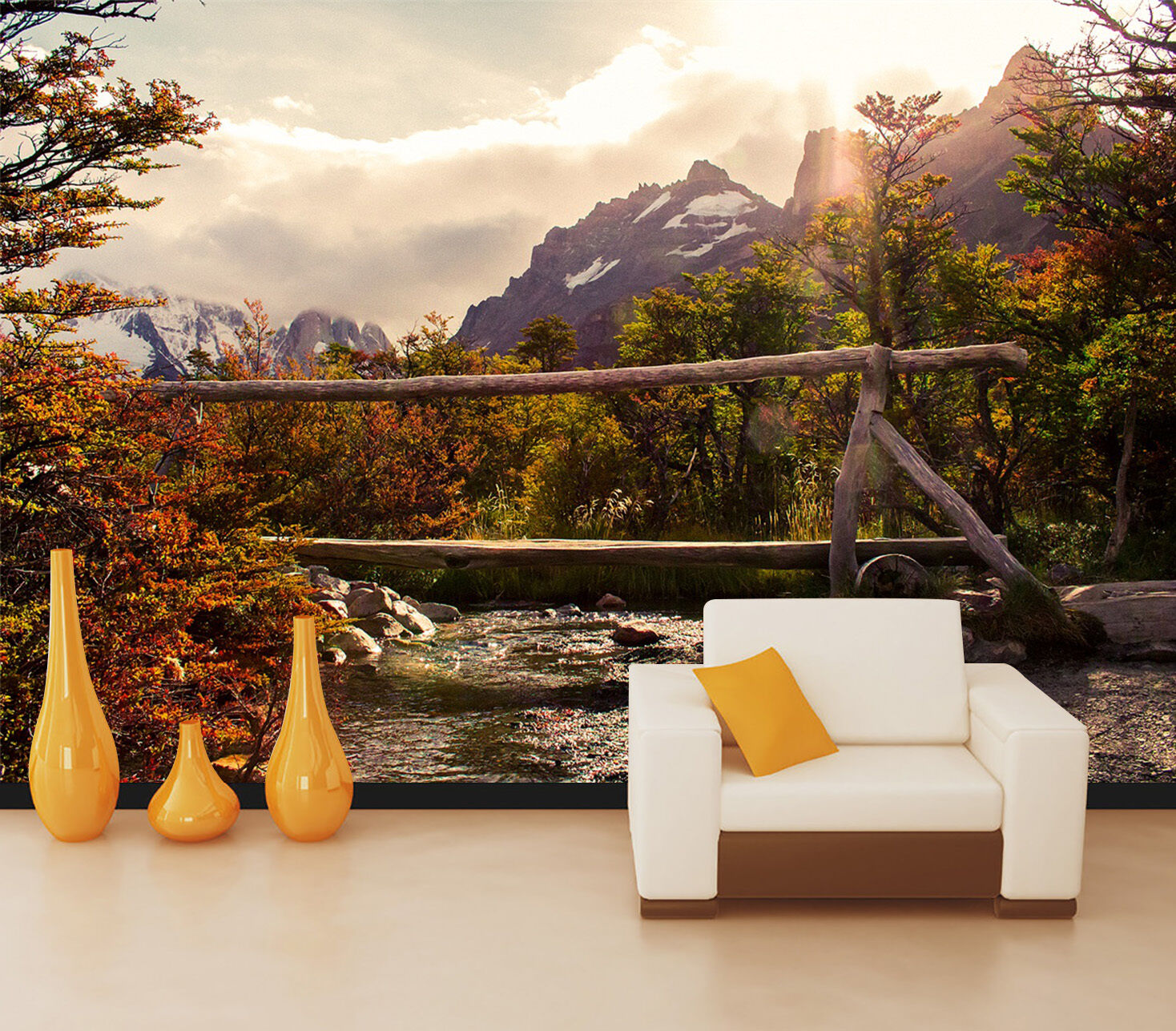 3D Sehr hohe Berg 687 Fototapeten Wandbild Fototapete Bild Tapete Familie Kinder | Sonderkauf  | Geeignet für Farbe  | Nutzen Sie Materialien voll aus