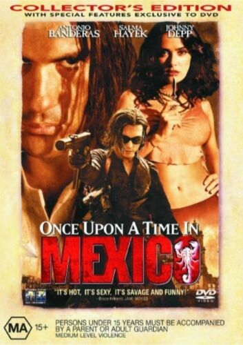 1 of 1 - Once Upon A Time In Mexico (DVD) - Johnny Depp # 0335