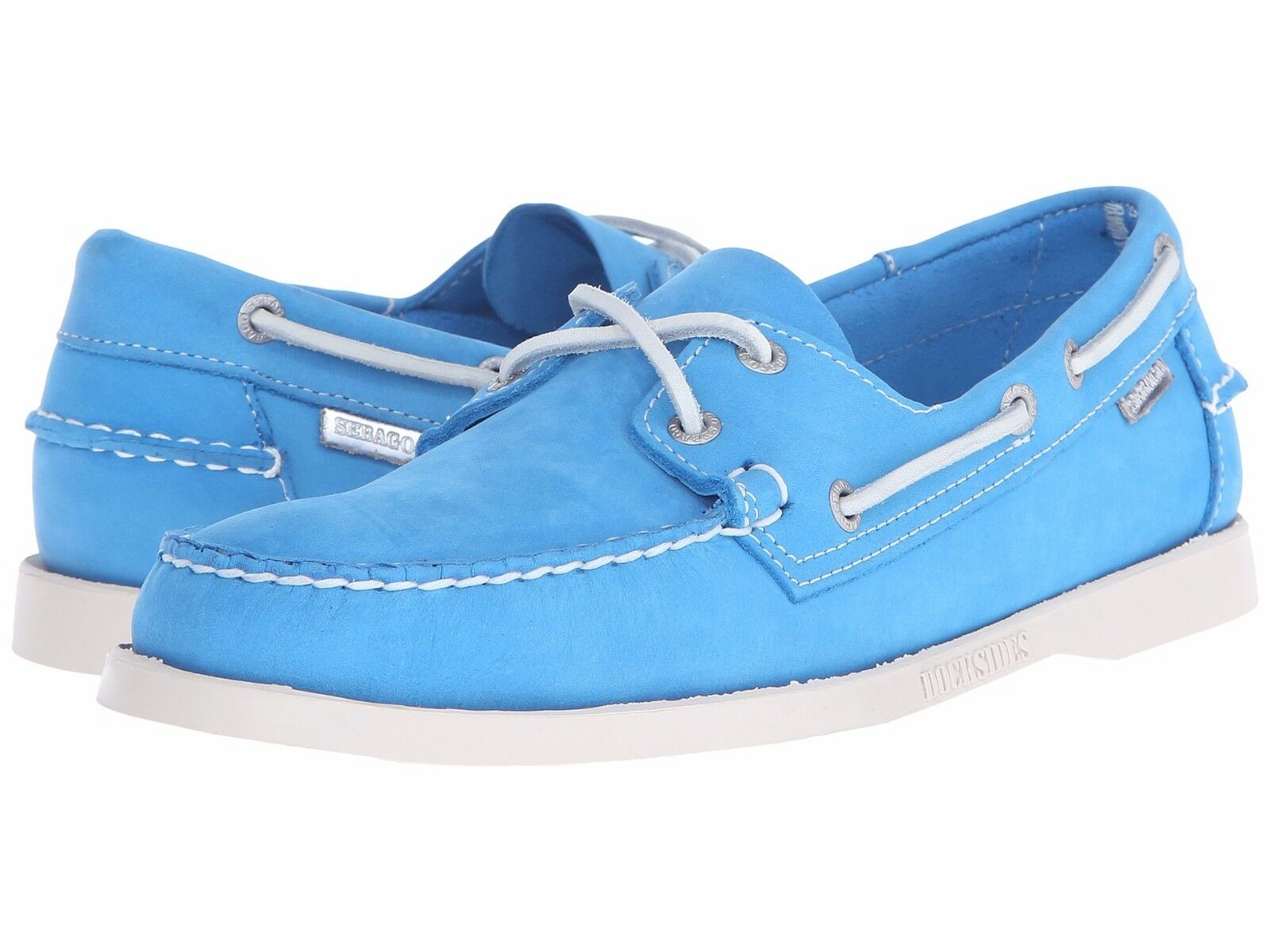 Sebago Spinnaker dockside 70th anniversary, limited edition 8.5 M aqua bluee