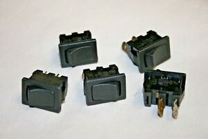 SPDT Black H8610VBAAA Arcolectric Switches Rocker Switch