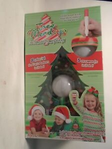 image is loading treemendous christmas tree ornament decorating kit for kids