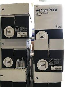 keji 80gsm Premium White A4 Copy Printer Paper 1000 Sheet