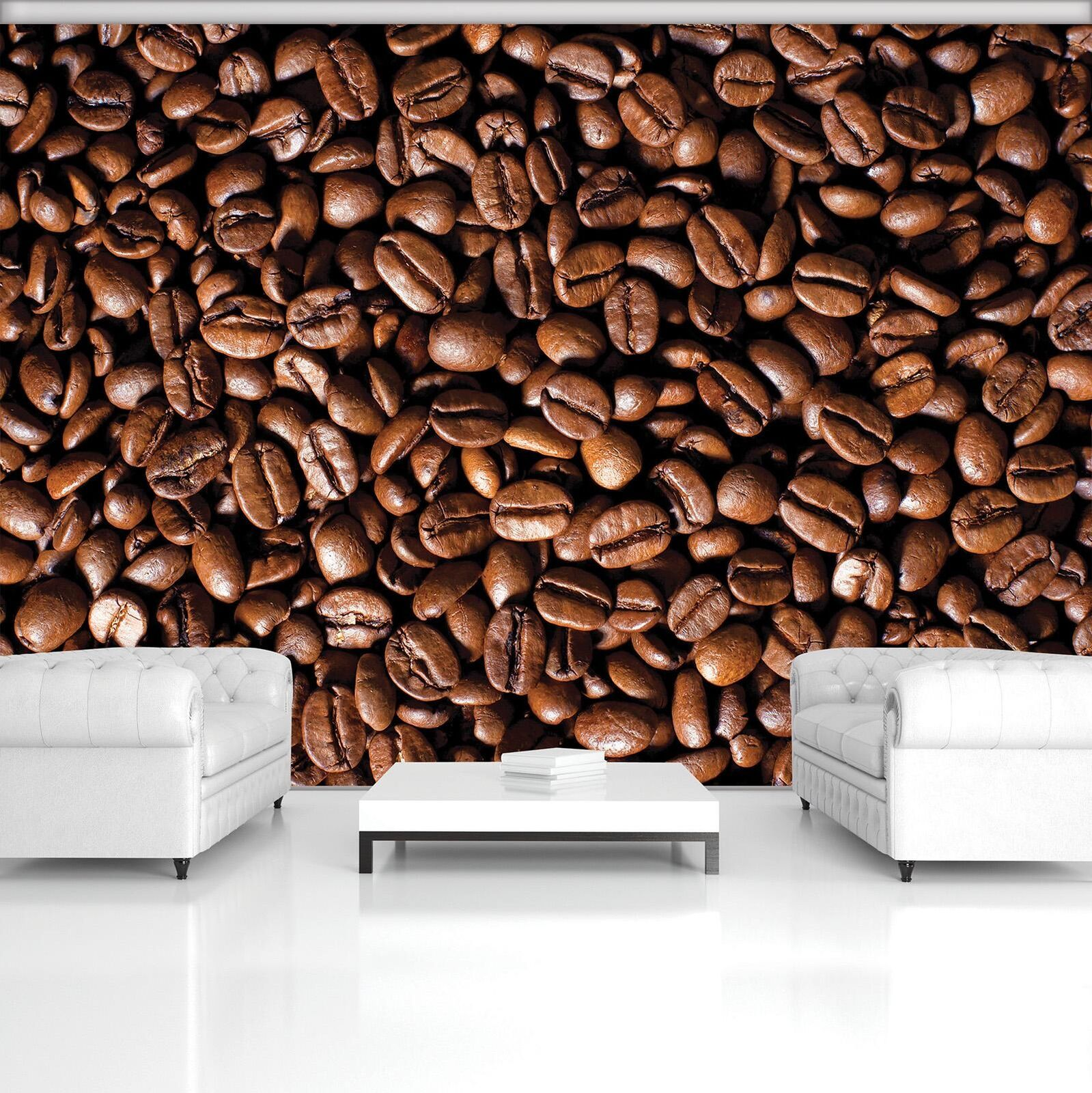 Photo Wallpaper Mural  20233_P Coffee Beans Coffee Coffee Beans Scent Cup Coffee