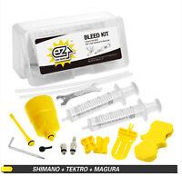 Ez's Hydraulic Brake Bleed Kit For Shimano And Tektro Brake System
