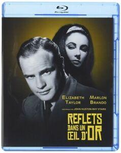 Reflejos-en-un-Ojo-de-Oro-Marlon-Brando-Taylor-Brian-Keith-Blu-Ray-Nuevo
