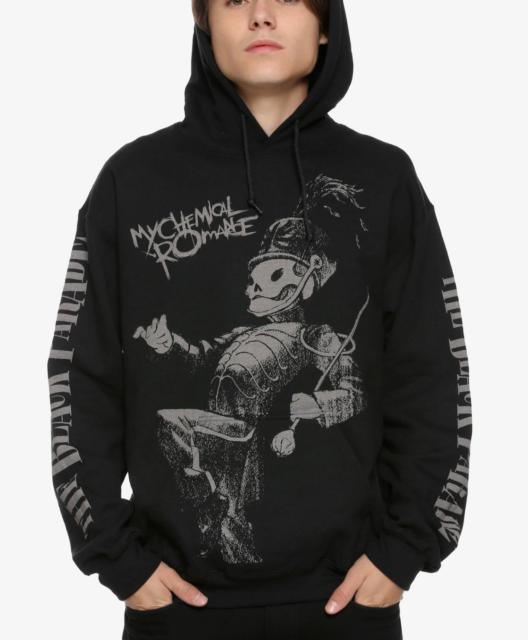 My Chemical Romance Punk Band Music Casual Hoodies Men Sweatshirt Unisex  Hoodie