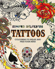 Adult Colouring - Tattoos (Inspired Colouring), 1472392574, New Book