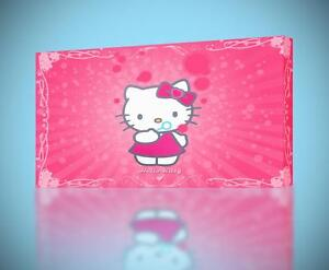 12d5584d8980 Hello Kitty CANVAS PRINT Home Wall Decor Giclee Art Poster Nursey ...