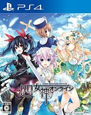 New PlayStation 4 Four goddesses online CYBER DIMENSION NEPTUNE