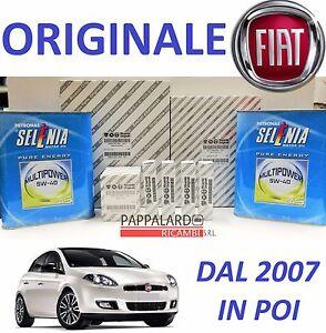 KIT TAGLIANDO FILTRI ORIGINALI +OLIO SELENIA FIAT BRAVO II ...