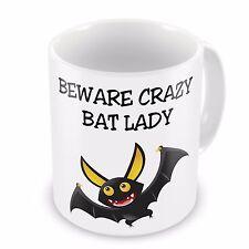 Beware Crazy Bat Lady Novelty Gift Mug