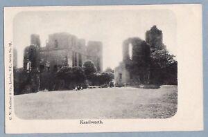 VINTAGE-POSTCARD-KENILWORTH-CASTLE-WARWICKSHIRE-Unposted