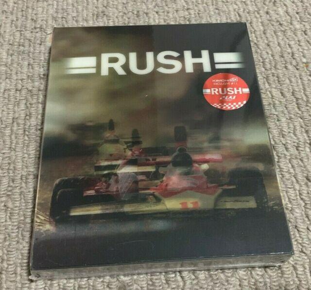 Rush Kimchidvd Exclusive Lenticular Fullslip Blu-ray Steelbook New & Sealed