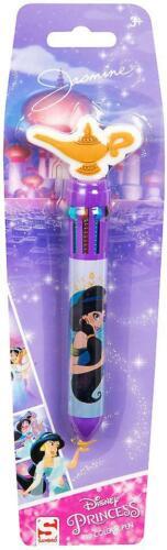 Disney Princess Aladdin Jasmine 10 Colour Pen 16cm