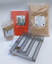 Sparbrand-3- Paket inkl. Räuchergewürz, Lachsmehl, Räuchermehl Räucherhandbuch