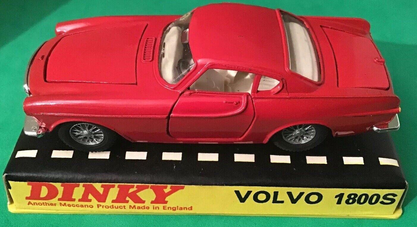 venderse como panqueques Original Vintage Década de 1960 1960 1960 Dinky  116 Volvo 1800S Estuche Duro en condiciones de súper  protección post-venta