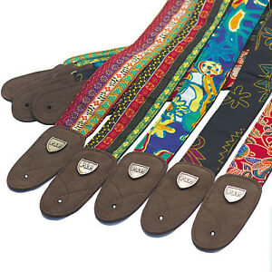 Folk-Style-Jacquard-Woven-Acoustic-Electric-Guitar-Strap-Belt-Retro-Hippie-Band