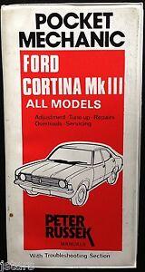 1970 1971 1972 1973 ford cortina mkiii mk3 repair manual by peter rh ebay com Ford Cortina MK Ford Cortina Pictures New Zealand