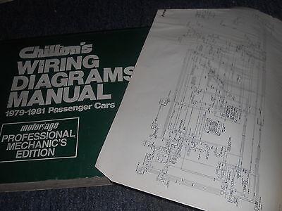 1979 BUICK SKYLARK WIRING DIAGRAMS MANUAL SCHEMATICS ...