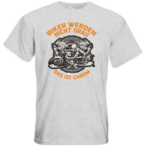 Getshirts-rahmenlos ® cadeaux-t-shirt-Biker ne sont pas gris