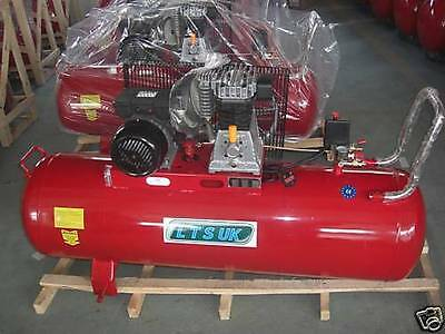 AIR COMPRESSOR 100 LTR NEW  c/w WARRANTY NEW  2 year warranty