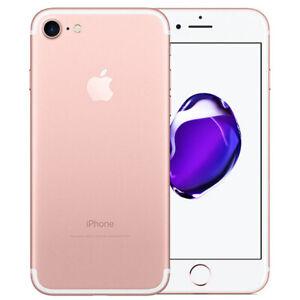 APPLE IPHONE 7 128 GB Rose Gold Rosa Grado A/B Usato Ricondizionato Rigenerato