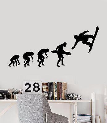 Vinyl Wall Decal Snowboard Extreme Sport Snowboard autocollants ig4213