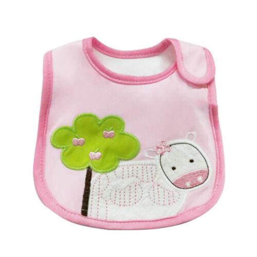 Wasserdichte niedlich unisex Baby Lätzchen Kinder  verschluss Speichel Tuch