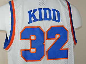 JASON KIDD ST JOSEPH PILOTS HIGH SCHOOL JERSEY WHITE NEW SEWN ANY SIZE