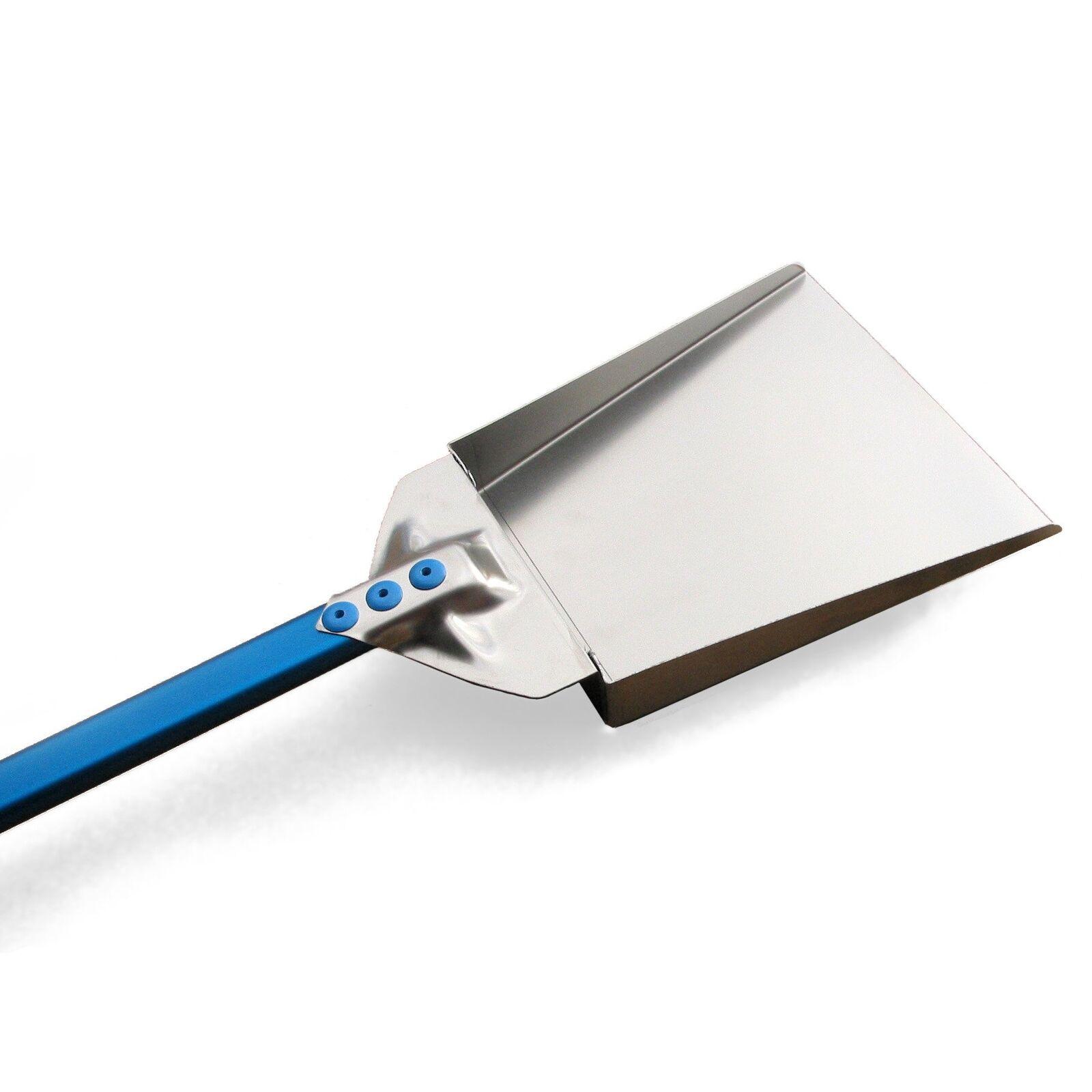 GI.METAL Ash Shovel for Wood-Firouge Pizza Oven -  Stainless - 47  Aluminum Handle