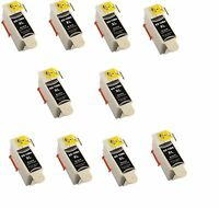 10 Kodak 10 Black Ink Cartridge for 10XL Printers ESP 3250 5250 6150 7250 Hero