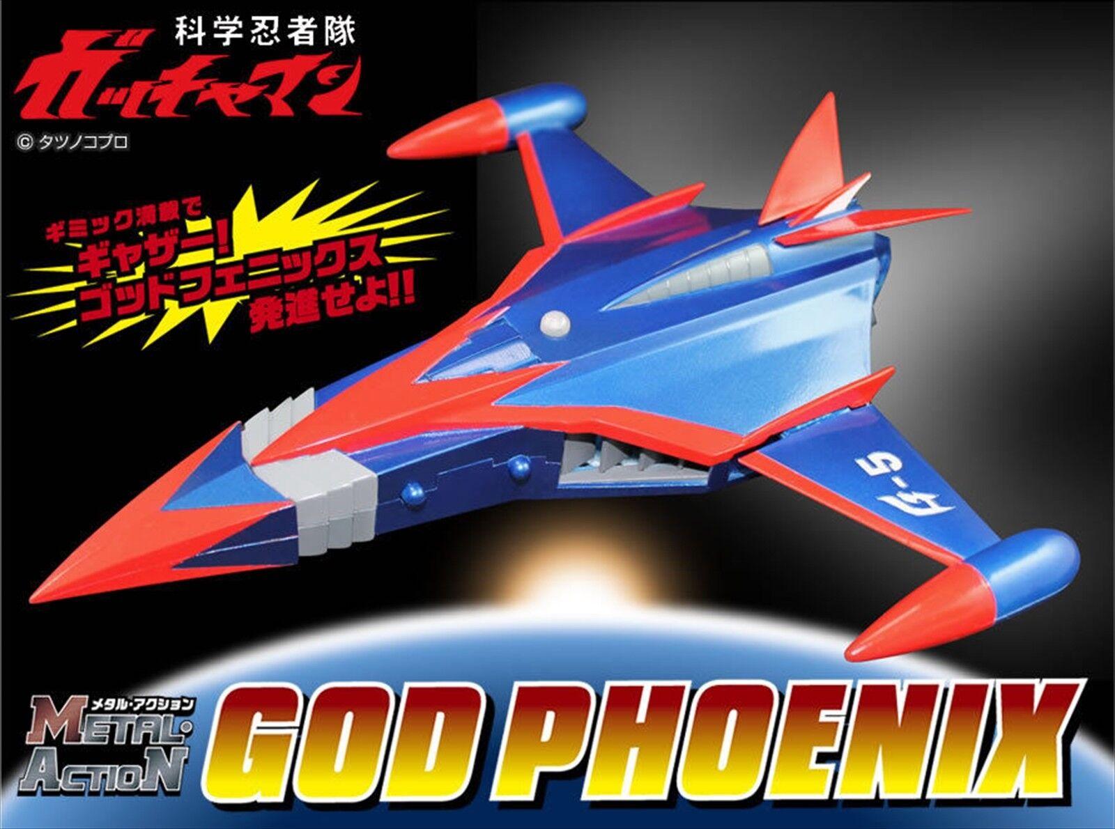 PRE Metal Action No.9 Gatchaman God Phoenix EVOLUTION TOY NEW