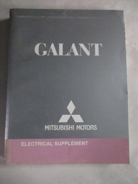 2007 Mitsubishi Galant Electrical Supplement Wiring