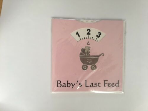 GREAT /& USEFUL CARD GIFT FOR A NEW BABY CHIGGS BABY FEED WHEEL