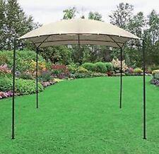 Gazebo da 2,7x2,7 di colore écru per arredo giardino esterno