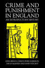 Crime and Punishment in England: An Introductory History by Angus McInnes, Christopher Harrison, David Vincent, John Briggs (Paperback, 1996)