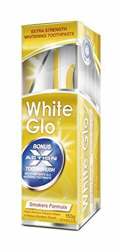 White Glo Dentifrice formule blanchissante pour fumeurs