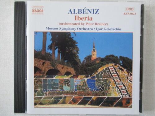 1 von 1 - Albeniz - Iberia (Orchestriert Peter Breiner) von Igor Golovschin - CD Neuwertig