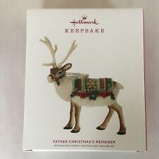 Hallmark Father Christmas's Reindeer Limited Edition Keepsake Ornament 2019