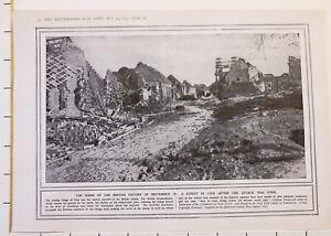 1915 Première Guerre Mondiale G.mondiale 1 Imprimé Britannique Victoire B8siz3cv-07235029-208058279