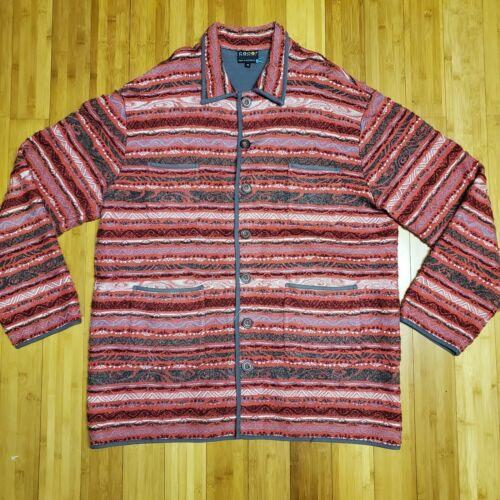 Rare Vintage Coogi Cardigan Jacket Size 4XL