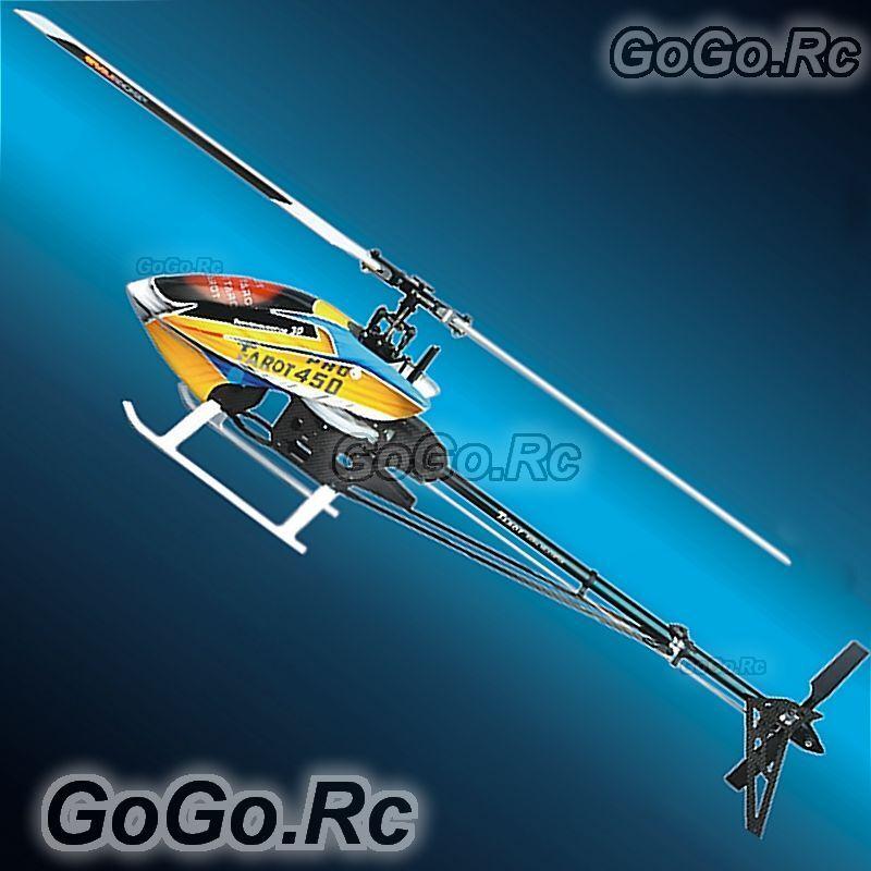 Tarojo 450 Pro V2 helicóptero Conjunto de cuerpo marco negro con FBI principal Head TL20006-un