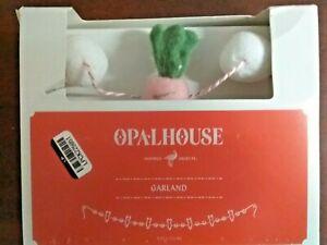 """60"""" Artificial Carrot and Pom Garland - NIB Opalhouse"""