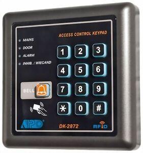 Klingelfunktion RFID Card Reader 12V DC IP55 Digitales Codeschloss DK-2872