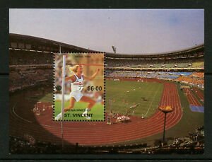 Olympics Seoul 1988 mnh Souvenir Sheet Grenadines of St. Vincent unissued