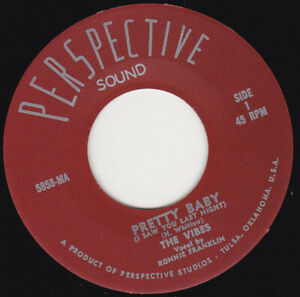 """THE VIBES - Pretty Baby 7"""" 45"""