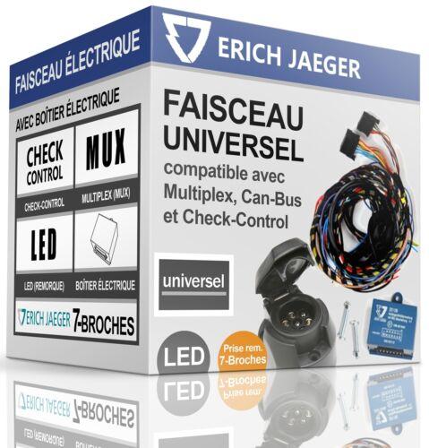 FAISCEAU ÉLECTRIQUE 7-broches pour attelage PEUGEOT 208 de 2012