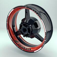 "Felgenaufkleber Motorrad Felgenrandaufkleber Premium Wheelsticker ""Saw Honda"""